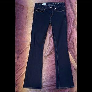 Gap 1969 Curvy Bootcut Dark Wash Jeans